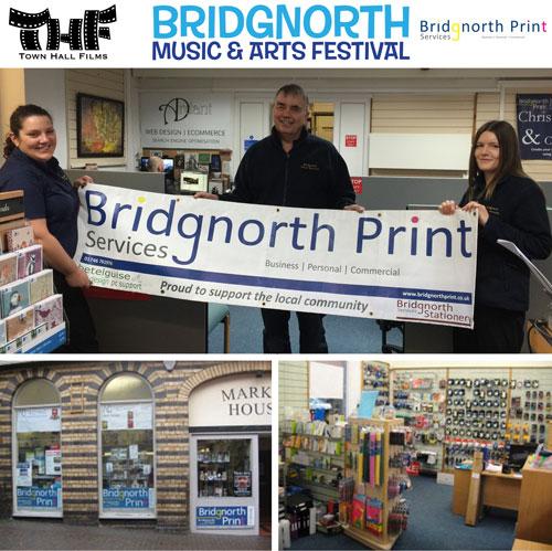 Bridgnorth Print Town Hall Films