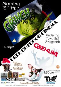 Outdoor Cinema December 19th 2016