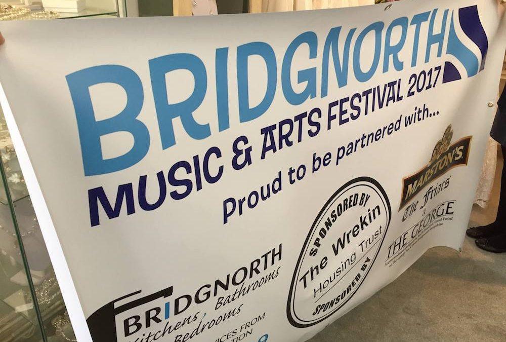 Camping at Bridgnorth Festival in 2018