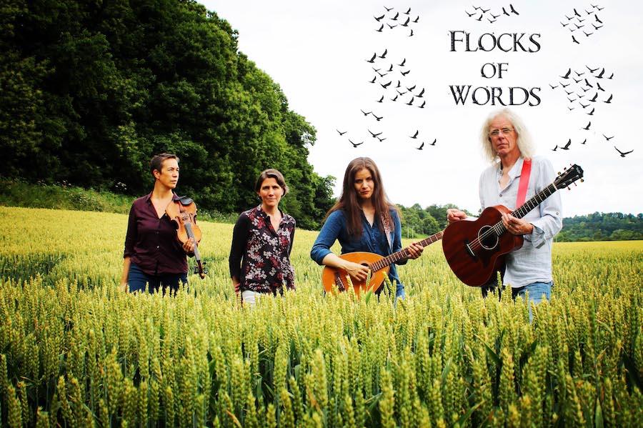Flocks of Words - Kate and Whalebone